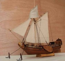 Holland yacht D'oro 1:80
